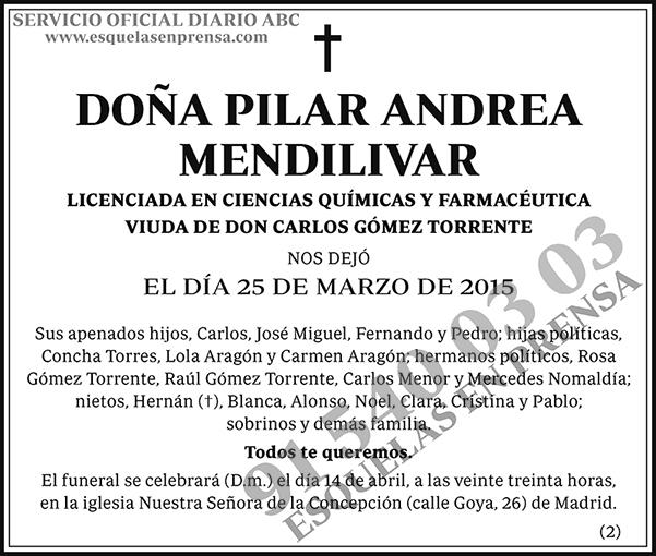 Pilar Andrea Mendilivar